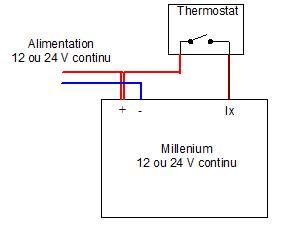 schéma électrique TA